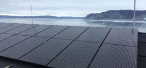 Solar power in Greenland