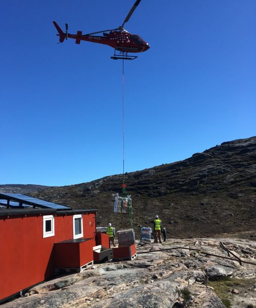 Delivery of Components to Remote Location