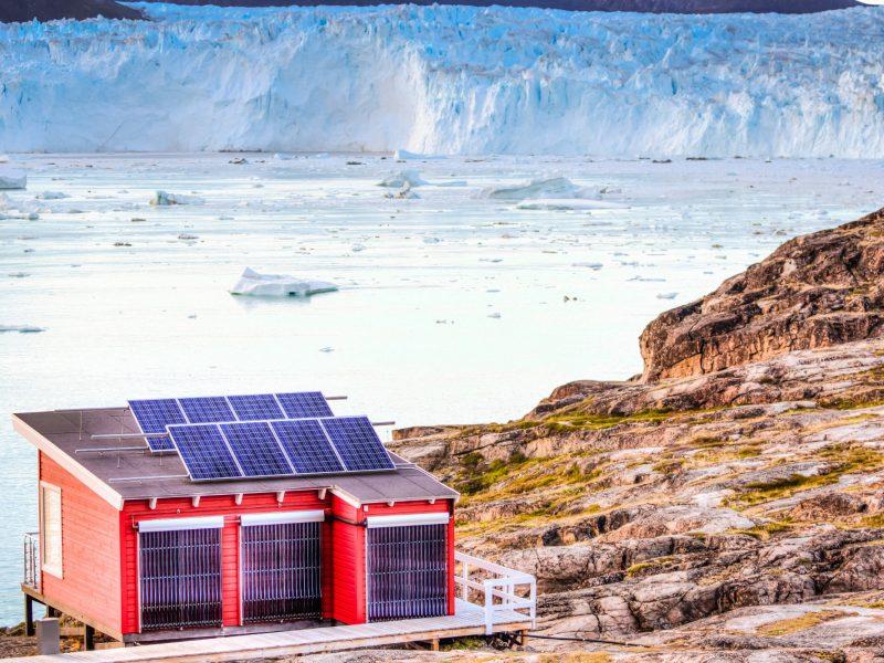 Glacier Lodge Eqi, Greenland